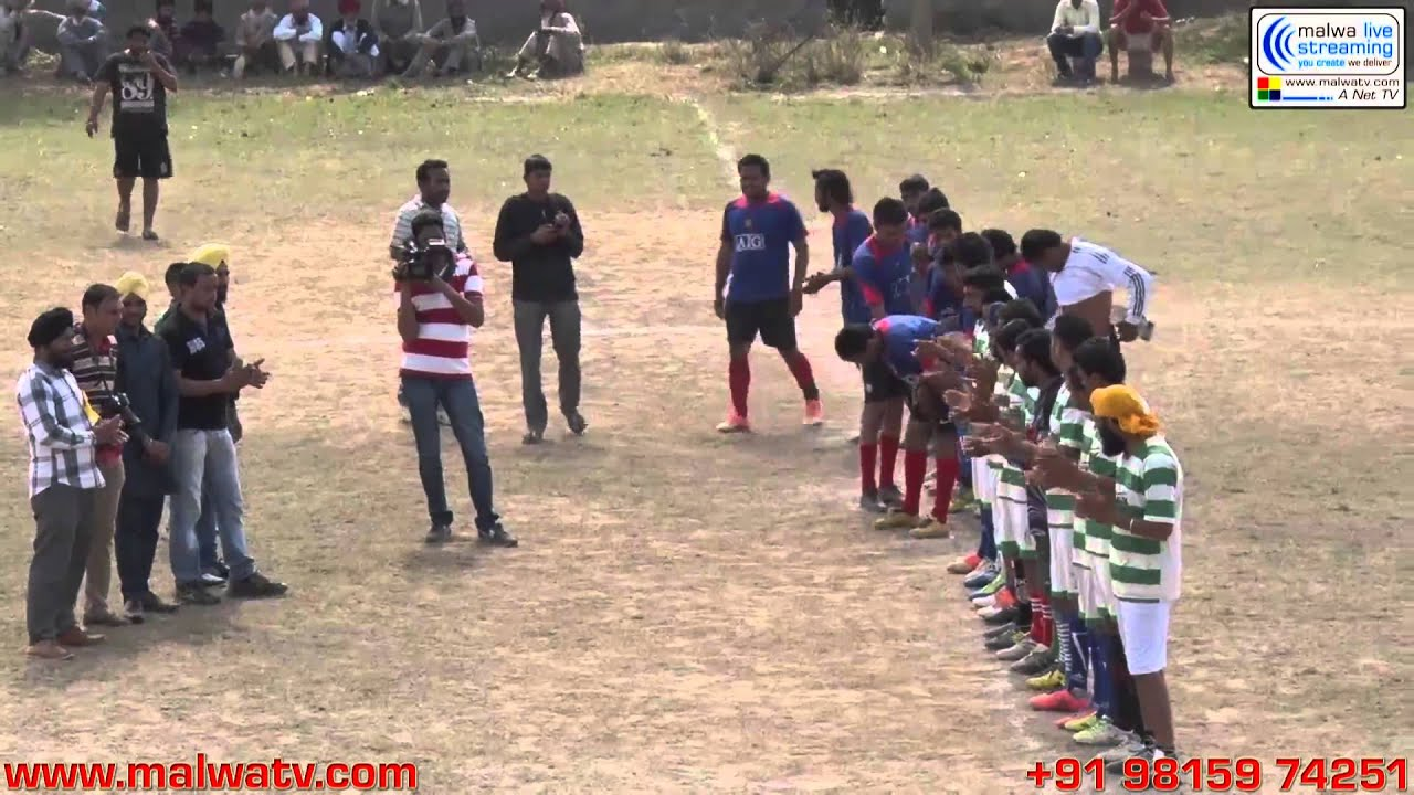 BURJ NAKLIAN (Raikot-Ludhiana) Football Tournament - 2014.