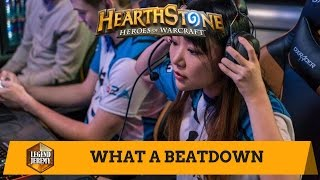 [Hearthstone] I Got Beat Up By A Girl And I Did Not Like It