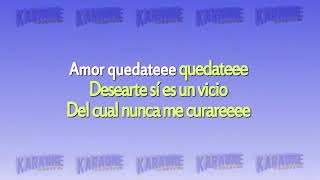 Jean Carlos Canela Amor quedate karaoke sin voz