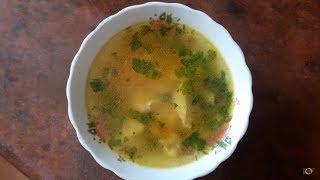 Легкий летний куриный суп без картофеля и без зажарки