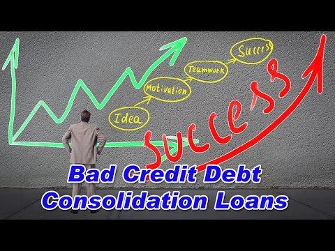 bad-credit-consolidation-loans