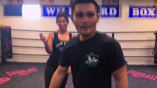 Ring TV's Cynthia Conte and Brian Viloria Jump Rope Lesson!!