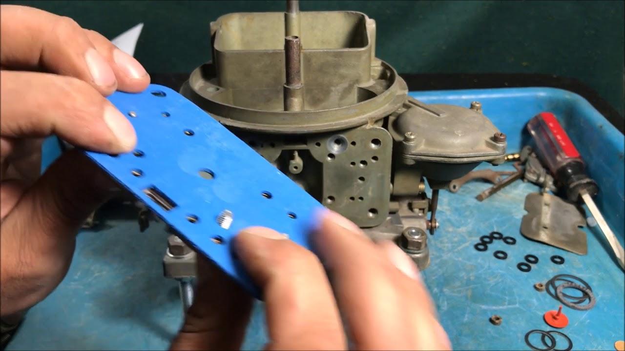HOLLEY carburetor REBUILD 3310-2 PART 2 vacuum secondary 750 cfm