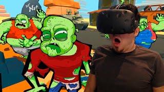 SIMULADOR Apocalipsis ZOMBIE!   Zombie Training simulator (HTC Vive) REALIDAD VIRTUAL