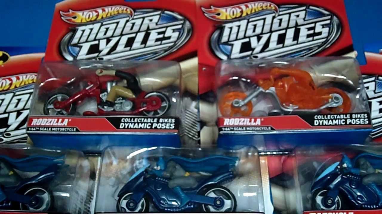 2012 Hotwheels Motorcycle Series Batcycle Amp Rodzilla Ghost