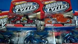 2012 Hotwheels Motorcycle Series Batcycle & Rodzilla Ghost Rider Chase Variant