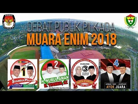 Debat Publik Pilkada Muara Enim 2018