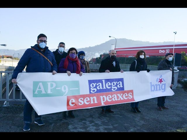 BNG reclama a supresión xa da peaxe na AP-9 no tramo Vigo-Redondela
