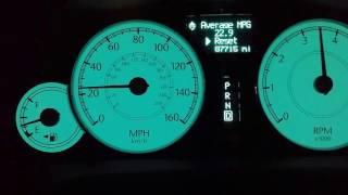 2007 Chrysler 300C 3.5 V6 0-100km/h 0-62mph acceleration