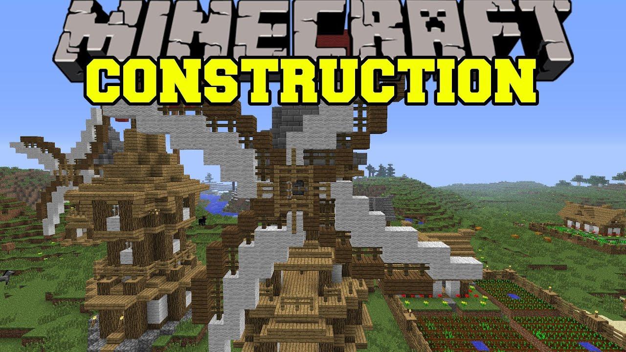Instant Building Mod Minecraft