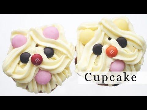 make-puppy-dog-cupcake- -decoration-ideas-강아지-컵케이크-데코하는-법-diy-holiday-treats,-christmas-gift-ideas