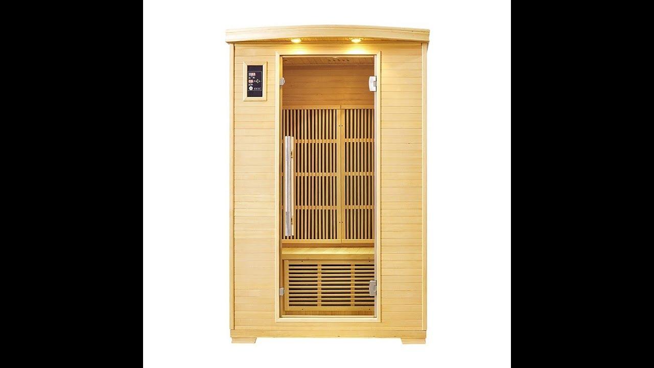 Cabine De Sauna Prix sauna infrarouge nordica® carbone 2 places 120x100