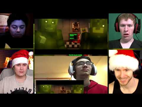 """REPLAY YOUR NIGHTMARE"" FNAF 3 Minecraft Music Video 