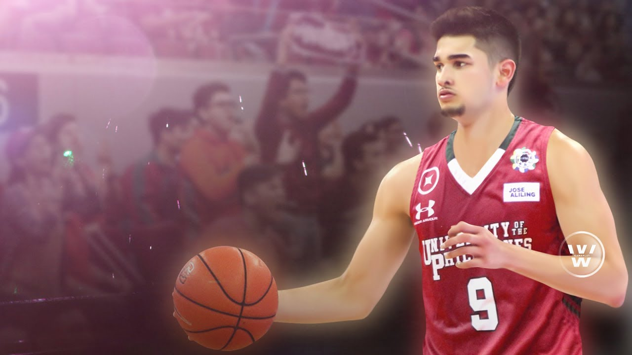 """Kobe Paras to UP Fighting Maroons 