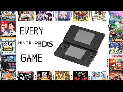 Every Single Nintendo DS Game Ever Made! (1839 GAMES!!)