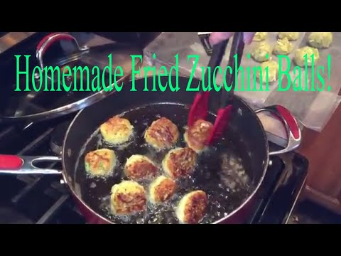 Best Homemade Fried Zucchini Balls| Vegetarian Meatballs
