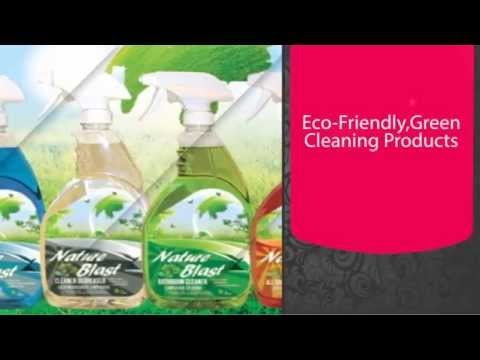 Nature Blast Eco Friendly Green Cleaning Products