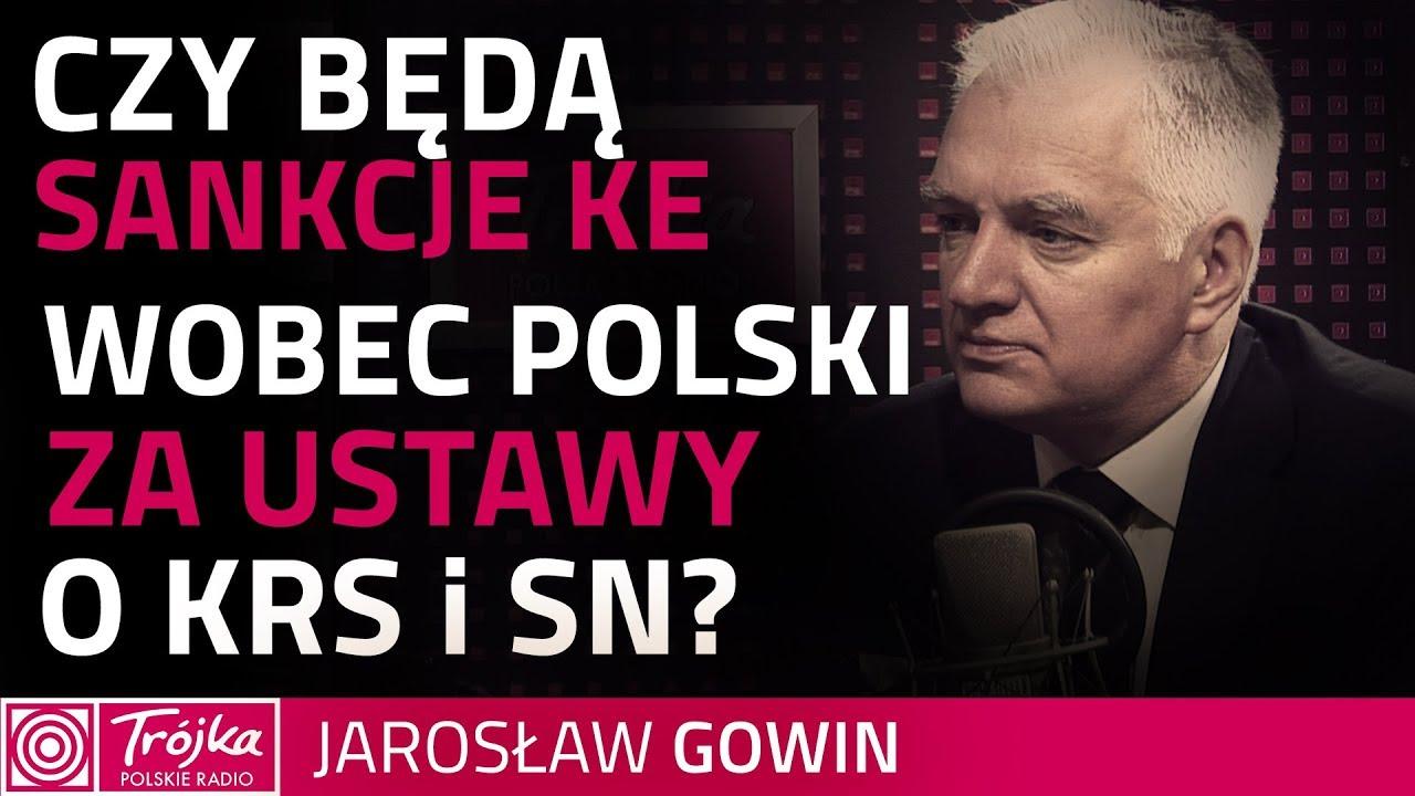 Gowin: sankcje wobec Polski ws. KRS i SN to daleka droga