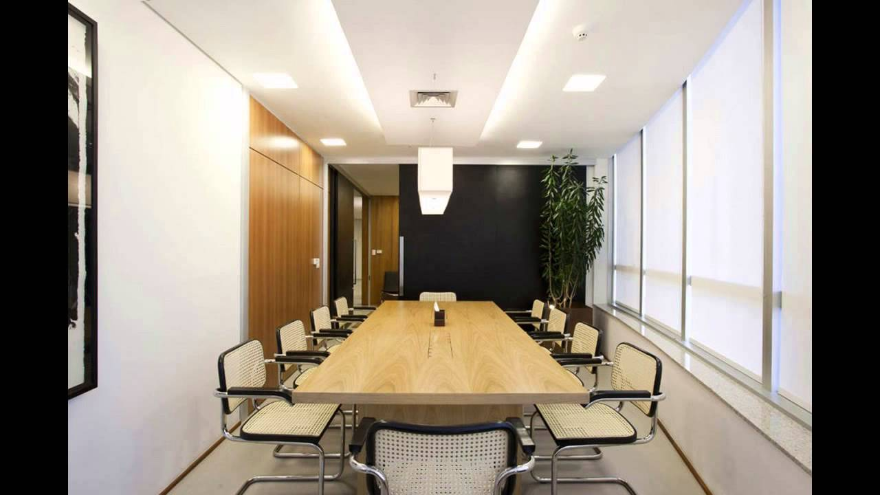 Office meeting room designs youtube for Conference room design ideas office conference room