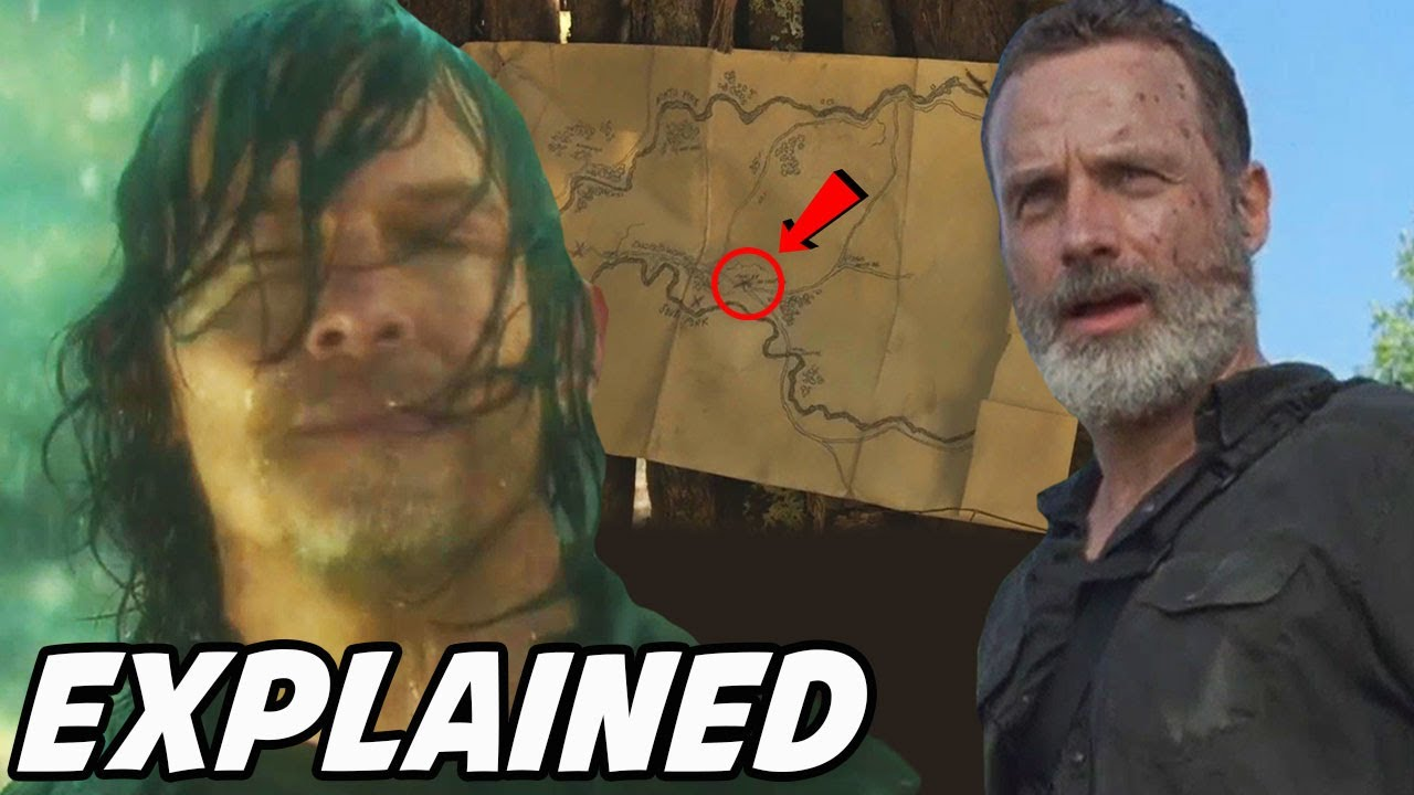 'Rick Grimes Major Location & Leah Mystery Solved' The Walking Dead Season 10 Episode 18
