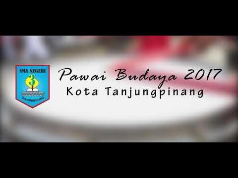 "Pawai Budaya Kota Tanjungpinang 2017 ""Festival Bahari Kepri 2017"" - SMAN 3 Tanjungpinang"