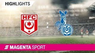 Gambar cover Hallescher FC - MSV Duisburg   Spieltag 17, 19/20   MAGENTA SPORT