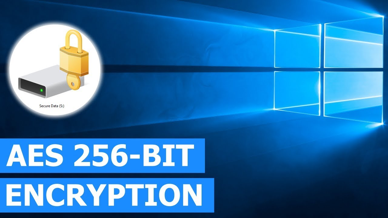 How to make BitLocker use AES 256-bit encryption instead of AES 128-bit on  Windows 10