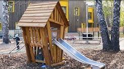 Lekolar skapar naturlekplats på Solängens Förskola i Huddinge