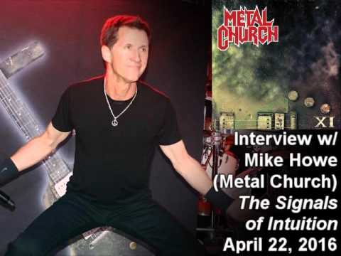 Mike Howe (Metal Church) 2016 Interview on the Signals of Intuition