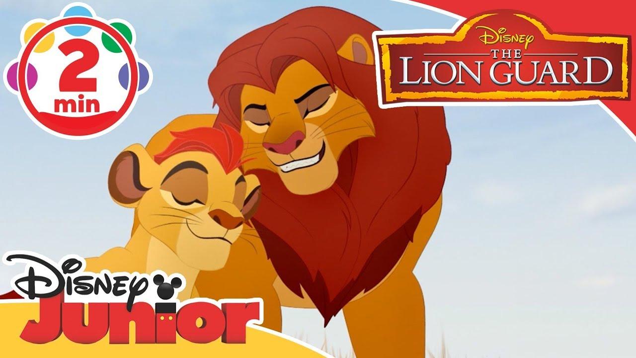 The Lion Guard | Simba & Kion: Path of Honour Song | Disney Junior UK