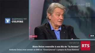 FN : Alain Delon conseille à son fils de