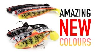 AMAZING NEW LURE COLOURS New pike lure colours from Fox Rage