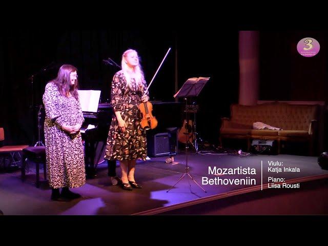 Taiteiden yön konsertit Savonlinnan kulttuurikellarilla - Mozartista Bethoveniin.