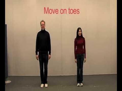 Dr Peter Lovatt & Ling Ling Tai - UH Dance Improvisation Workshop