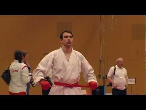KARATE DM 2011 (DKV) Kumite -84kg H. Leistenschneider Vs. O. Henning
