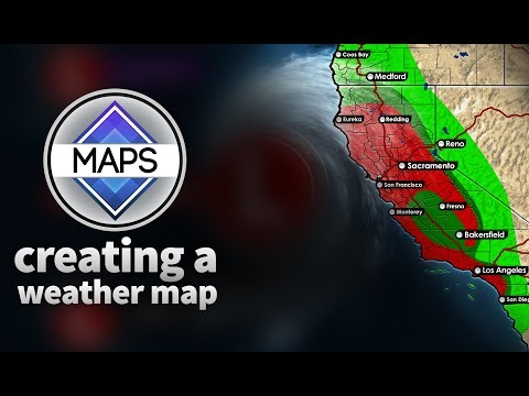 Creating A Weather Map || Getting Started W/MG Maps