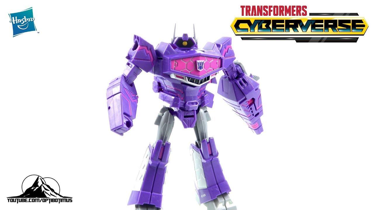 Transformers Toys Cyberverse Ultra Classe Shockwave