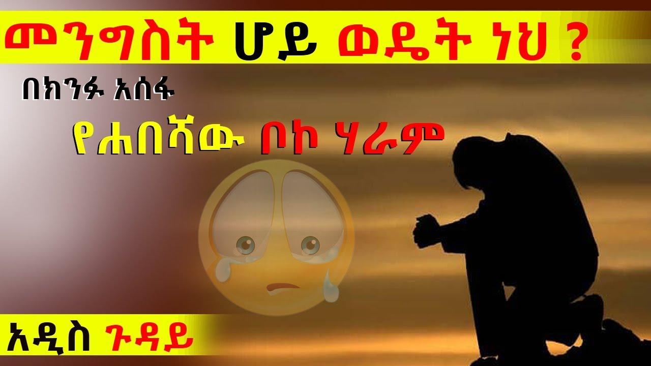 Ethiopia : መንግስት ሆይ ወዴት ነህ?