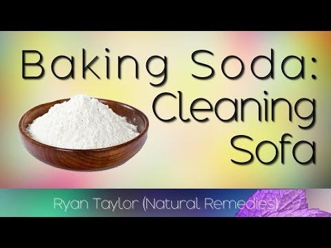Baking Soda: Sofa Cleaning (with Lemon)