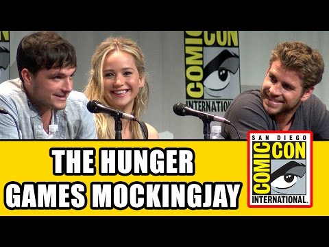 The Hunger Games Mockingjay Part 2 Comic Con Panel - Jennife