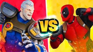 DEADPOOL vs. CABLE Challenge In Fortnite!