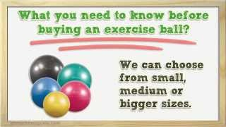 Tips to Buy Exercise Ball - Stability Ball Buyer Guide(Get Huge Discounts Here - http://abmachinesguide.info/discount/FitnessBall Stability ball is useful equipment to give a boost for your workouts. It is typically used ..., 2014-05-13T11:21:56.000Z)