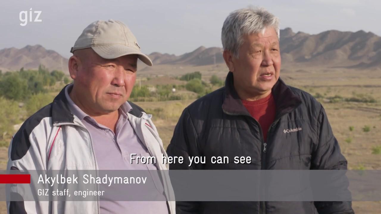 (KYRGYZSTAN - April 2018) DGIZ: Climate Change Adaptation in Kyrgyzstan. 2018