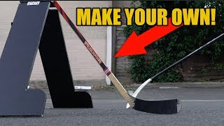 Expensive Hockey Training aid for CHEAP! Make DIY defender Attack triangle