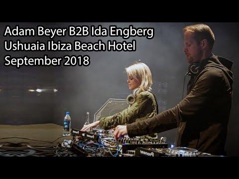 Adam Beyer B2B Ida Engberg @ Ushuaia Ibiza Beach Hotel [MAAC Presents Wild] 13 September 2018