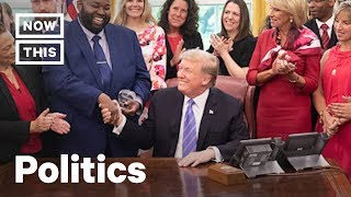 Teachers of The Year Send Trump a Message With White ...