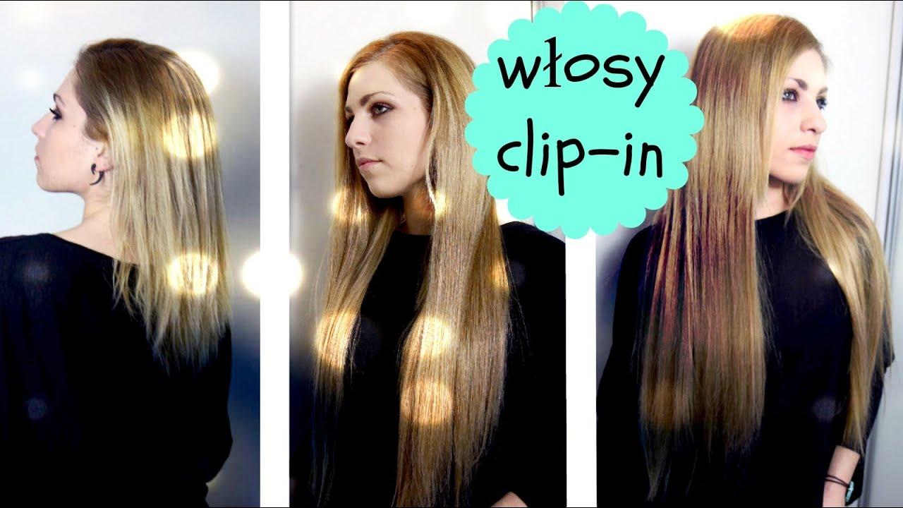 Przedłużanie Włosów Clip In Największy Zestaw