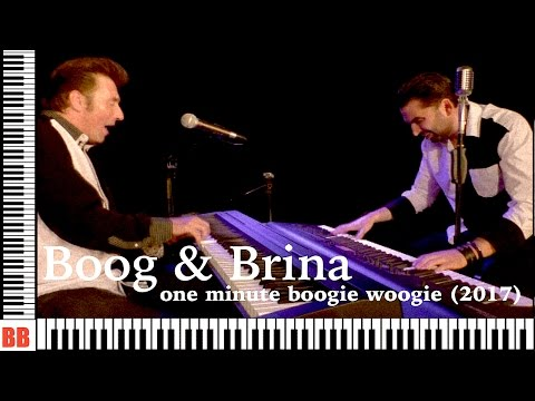 Boog & Brina - one minute boogie woogie (2017)