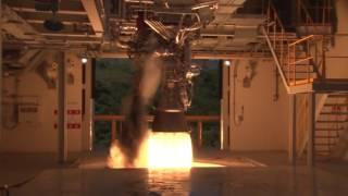 [KARI] 한국형발사체 75톤급 액체엔진 시험모델 1호기 연소시험(145초) 성공 근접영상 이미지