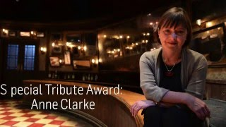 Irish Times Irish Theatre Awards Special Tribute Award Video - Anne Clarke